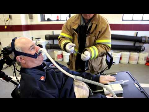 ALS wheelchair fire apparatus