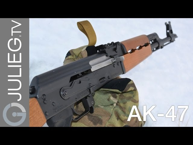 JulieG Shoots an AK-47 for the first time