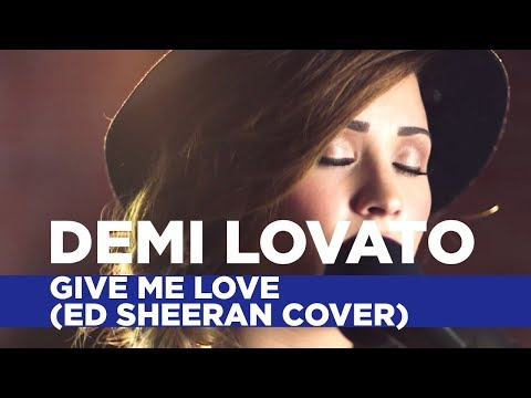 Demi Lovato - Give Me Love (Ed Sheeran Cover) (Capital FM Session)