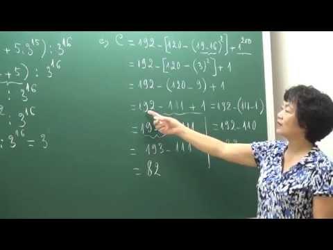 Toán lớp 6 - Ôn tập học kì 1  - Cô Phạm Thị Hồng [HOCMAI]