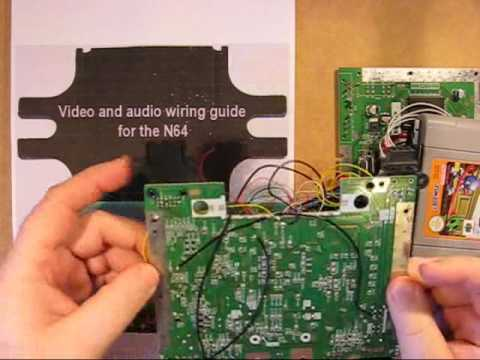 N64 log - 5 - Powering the system and connecting audio and video