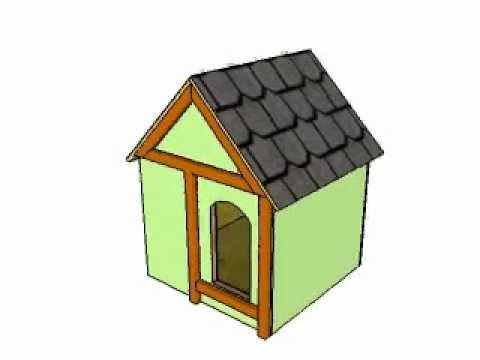 Insulated Dog House Plans Youtube