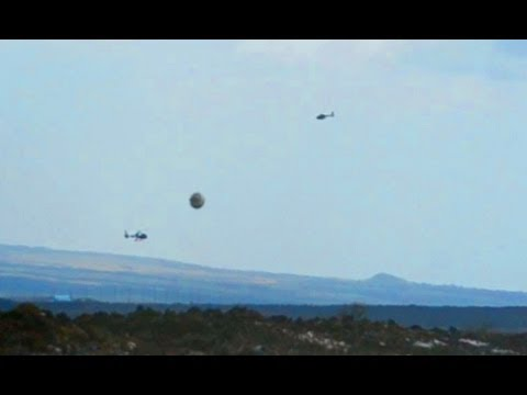 Breaking News UFO Sightings Helicopters Surround UFO Shocking Footage Watch Now! Aug 19 , 2012