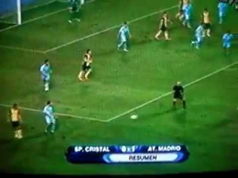 Sporting Cristal vs Atlético de Madrid 0-1 - Golazo de Mario Suarez -Copa Euroamericana |31/07/13