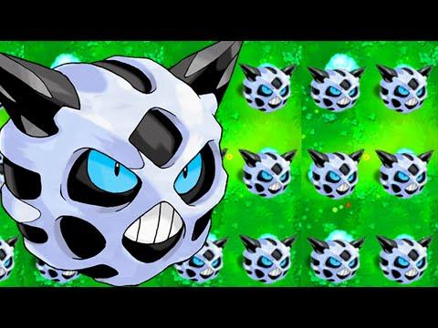 Pokemon vs Zombies - Hoa quả nổi giận phiên bản Pokemon (Phần 10)/GLALIE POKEMON