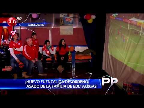 Celebramos el triunfo de La Roja ante Australia en la casa de Edu Vargas - PRIMER PLANO