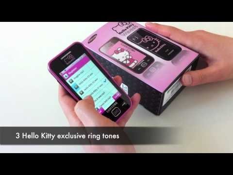 Samsung Wave 575 Hello Kitty: Unboxing & Review