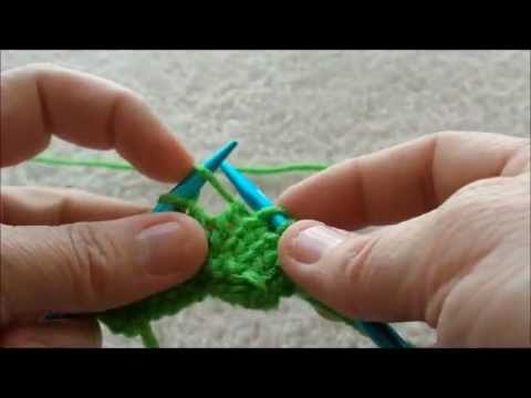 Why Is My Knitting Adding Stitches : Knitting Beginner - Increases - M1