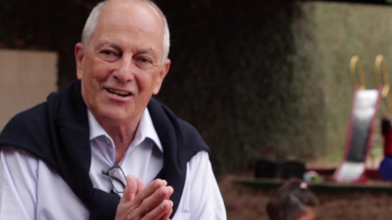 Marco Antonio Venancio, mantenedor e diretor financeiro, apresenta a Escola Terra Brasil