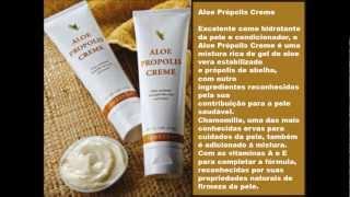 CUIDADOS COM A PELE COM Aloe Propolis Creme E Aloe Vera