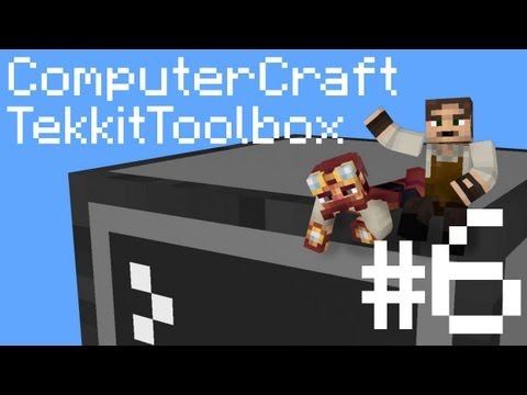 Tekkit Toolbox ComputerCraft Episode 6: Revenge of the Shelly Beasts