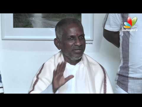 Naan partha Padi | Ilayaraja Press Meet at Art Houz | Paintings, Art gallery