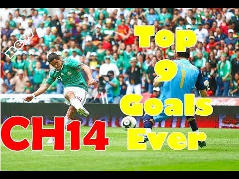 Javier Hernandez Chicharito ● Top 9 Goals Ever ● Video by TNl510