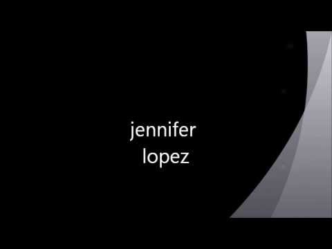 if you had my love by Jennifer lopez