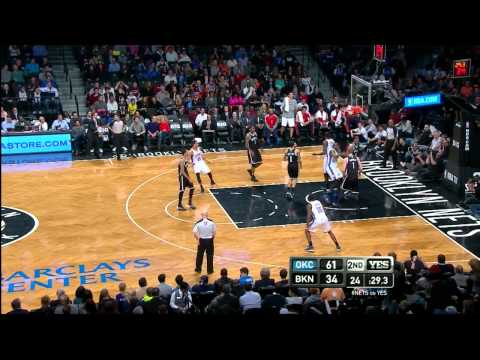 Serge Ibaka 12-12 From the Field vs Nets