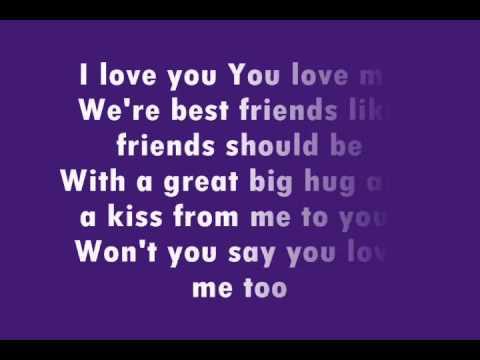 Barney - Love Song Lyrics | MetroLyrics