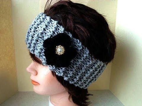 Knitting patterns - Free pattern knit a headband