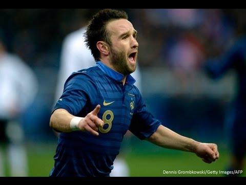 Tous les buts de Valbuena en Equipe de France !