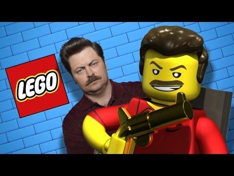 LEGO Ron Swanson