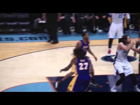 Los Angeles Lakers vs Charlotte Bobcats 2013.12.14