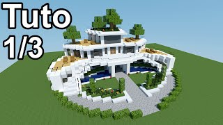 Minecraft Tutoriel Maison Moderne ! 1/3