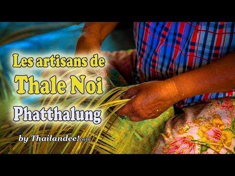 ban thale noi, village d'artisans à phatthalung