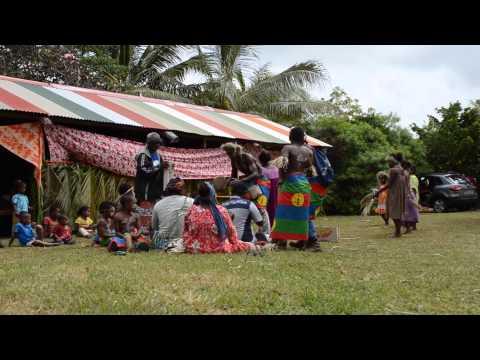 Danse traditionnelle de la tribu de Patho Maré Nouvelle Calédonie