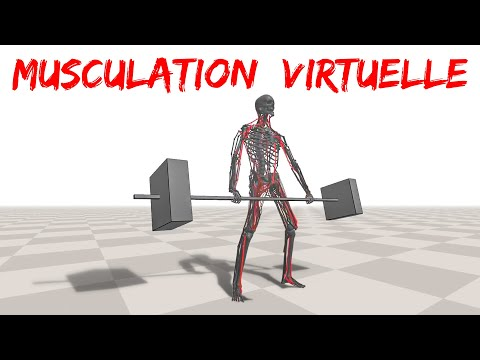 la MUSCULATION VIRTUELLE (Deep Learning et Intelligence Artificielle)