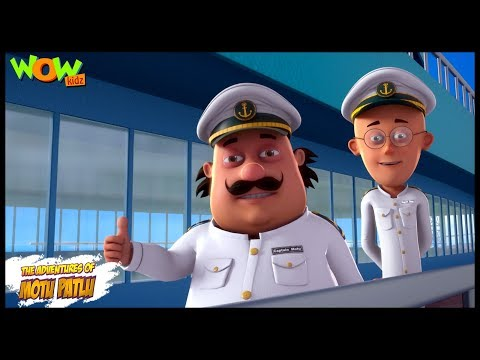 Motu Patlu New Episode | Hindi Cartoons For Kids | Motu Patlu Ka Flying Ship | Wow Kidz