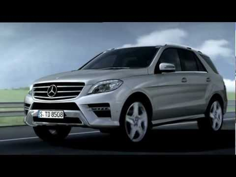 2012 Mercedes M-Class - Active Blind Spot Assist