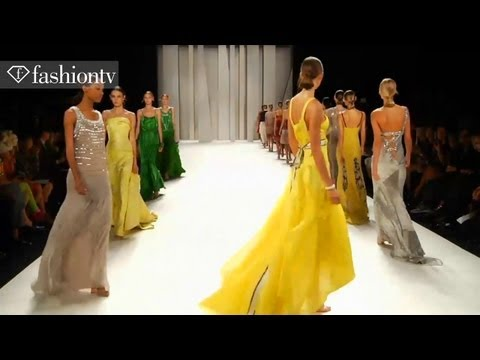Carolina Herrera Runway at New York Fashion Week with Spring colletion 2012