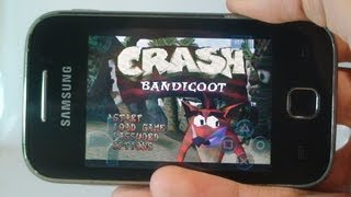 Crash Bandicoot Android (Crash 1) Galaxy Y