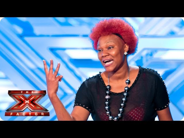 Souli Roots sings original track The Recession Song - Room Auditions Week 3 - The X Factor 2013