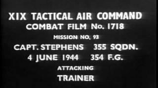 Captain Robert Stephens Gun Camera WW2