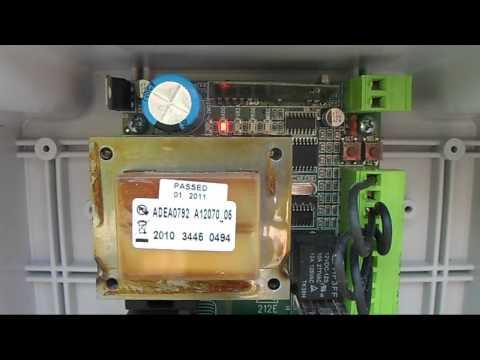 DEA 212E 230v Control board
