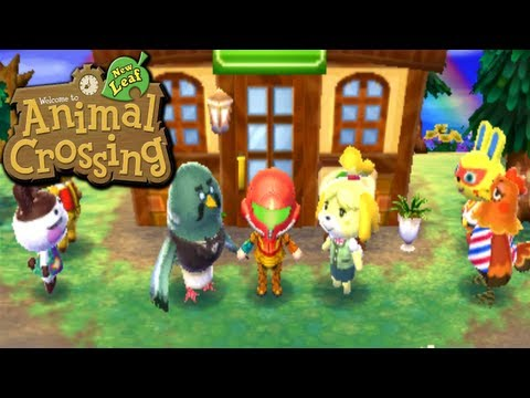 Animal Crossing: New Leaf - Gooseton's Roost (Nintendo 3DS Gameplay Walkthrough Ep.42), Today we worry about Shrunk's lifestyle, get some space spam mail, stop for a cup of coffee, visit the panda pad, celebrate the brew, pick a popo place, & be...
