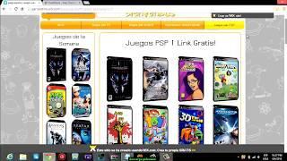 Descargar Juegos Para PPSSPP Gratis!!