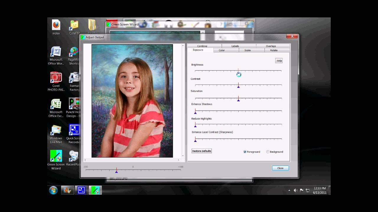 DOWNLOAD FREE Green Screen Wizard Pro v 68
