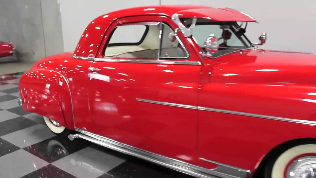 768 1949 dodge business coupe youtube for 1950 plymouth 3 window business coupe
