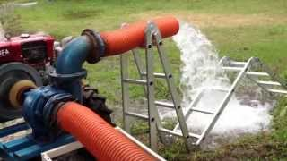 Extracción de agua de pozo
