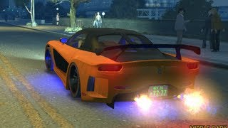 Fast And Furious Tokyo Drift Car MAZDA TUNING VS GTA4