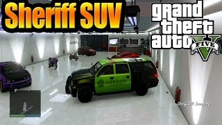 Grand Theft Auto V GTA 5) Online How To Get Sheriff SUV