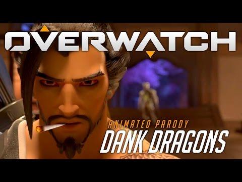 Overwatch Animated Short   Dank Dragons