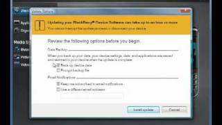 BlackBerry Desktop Software 6.0 How To Update Your