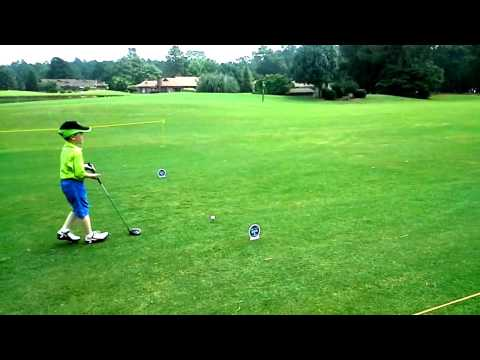 6 yr old Golfer Sean Ryan  in 3rd round of the World Golf Championships in Pinehurst N/C