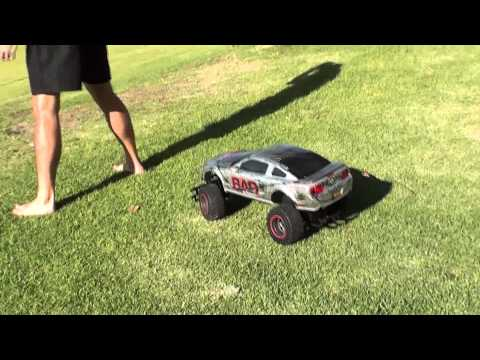 Shot put vs. RC Car - How Ridiculous
