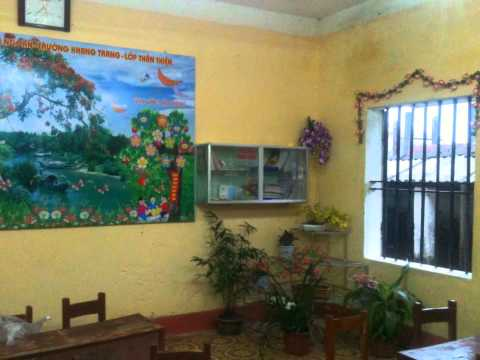 Đổi mới không gian lớp học - Trường tiểu học Vũ Thị Thục - Đoan Hùng - Hưng Hà - Thái Bình