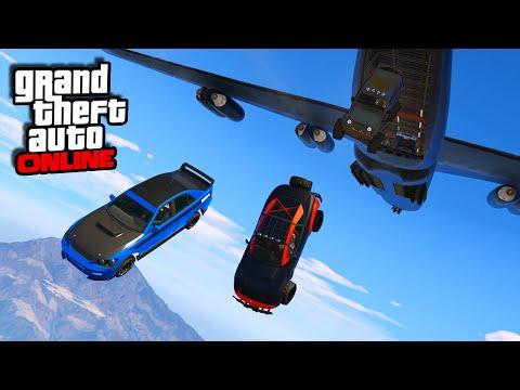 Furious 7 Plane Drop Scene!    GTA 5 Online    PC