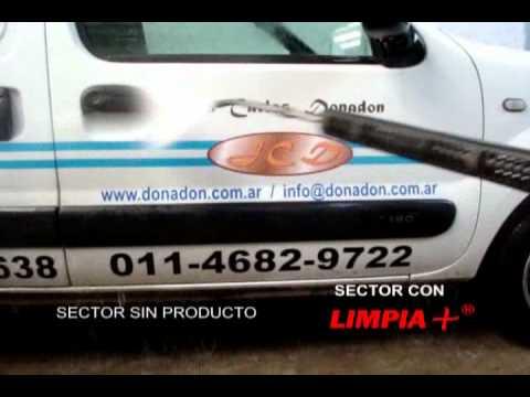 Uso de Limpia+® con Rociador JCD e Hidrolavadora