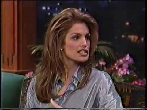 CINDY CRAWFORD - INTERVIEW - EARLY 90's